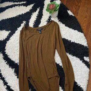 Forever 21 Long Sleeve Bodysuit Sz S